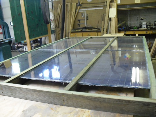 This is the triple panel frame, BIG!
